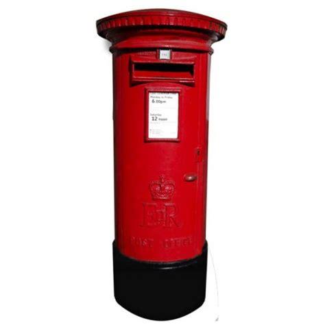 decoration boite aux lettres anglaise rouge decoration