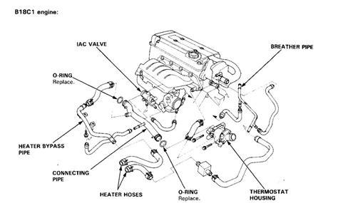 Engine Compartment Hose Diagram Honda Tech