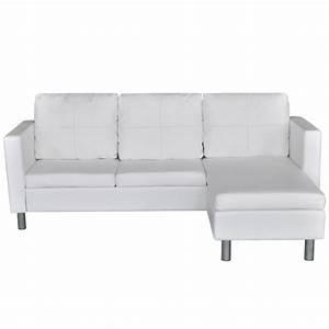 Eckcouch L Form : vidaxl kunstleder 3 sitzer loungesofa l form ecksofa dreisitzer eckcouch couch eur 198 99 ~ Indierocktalk.com Haus und Dekorationen