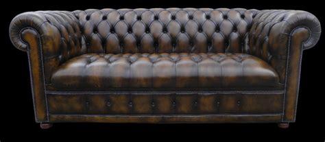 canapé lit en anglais canapé chesterfield lit 3 places marron patiné longfield