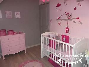 Chambre Bébé Fille : deco chambre fille rose poudre ~ Teatrodelosmanantiales.com Idées de Décoration