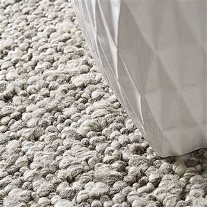 tapis en laine stone gris ecru home spirit With tapis laine gris