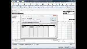 Quickbooks Invoice Template Quickbooks Training Videos Create Invoice From Sales