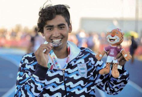 osorio se subio al podio en lanzamiento de jabalina