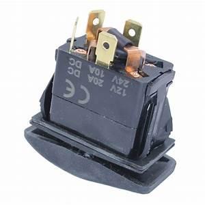 Dc Momentary Motor Polarity Reverse Reversing Rocker Switch Control Dpdt 12v 817375019748