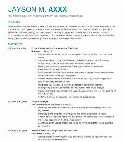 Compliance Specialist Resume by Regulatory Compliance Specialist Resume Sle Livecareer