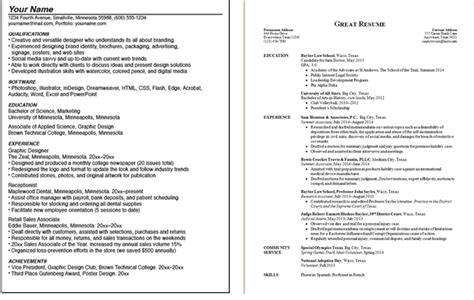Can Resumes Be 2 Pages by Can A Resume Be Two Pages Playbestonlinegames
