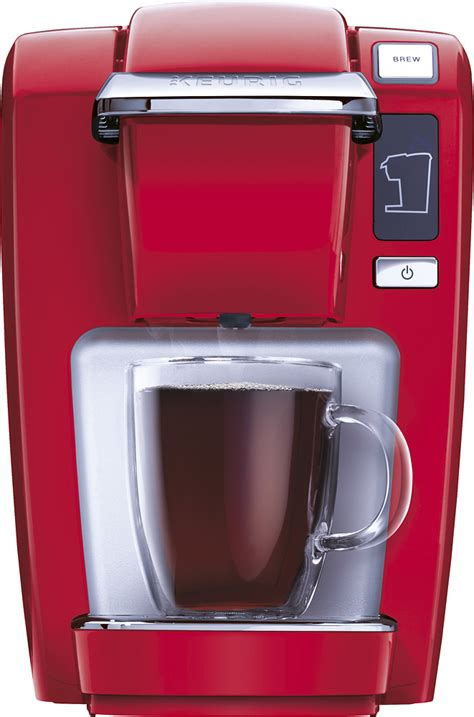 Most keurig coffee makers are single serve machines that can take three basic sizes which are 6, 8, and 10 oz. Best Buy: Keurig K-Mini K15 Single-Serve K-Cup Pod Coffee Maker Red 119251