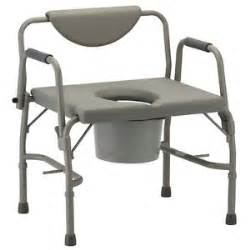 nova heavy duty drop arm steel bedside commode bariatric