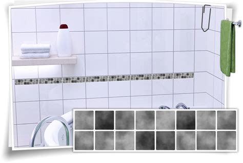 Fliesenaufkleber Grau by Fliesenaufkleber Mosaik Fliesenbord 252 Re Grau Medianlux Shop