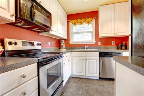 orange kitchens with white cabinets kitchen design ideas more space in the small kitchen 7208