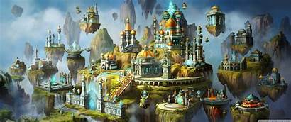 Magic Heroes Might Vii Academy Town Conceptual