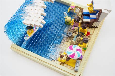 Lego Surfer Beach