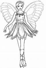 Coloring Pages Pretty Barbie Fairy Printable Fairies Princess Colouring Adults Three Books Disney Sheet Von Ausmalbilder Adult Mariposa Malvorlagen Lovely sketch template