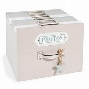 Boite Lumineuse Maison Du Monde : bo te de 6 albums photo en bois h 14 cm snow maisons du ~ Preciouscoupons.com Idées de Décoration