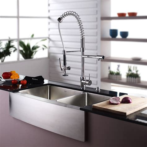 Farmhouse Faucet Kitchen by Top 10 Best Modern Apron Front Sinks