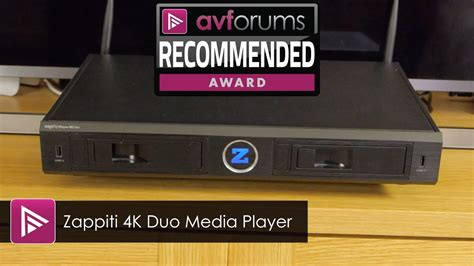 Zappiti 4k Duo Media Player Review
