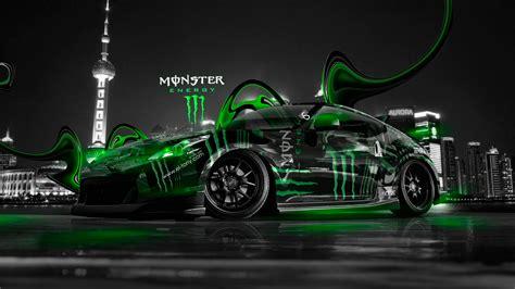 monster energy nissan  city plastic car  el tony