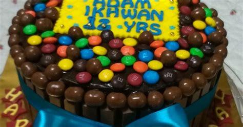 coklat homemade yg sedap murah comel kit kat cake