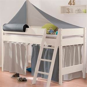 Vorhang Für Bett : paidi zweifarbige vorhang ses f r 180 183 cm hochbetten ~ Sanjose-hotels-ca.com Haus und Dekorationen