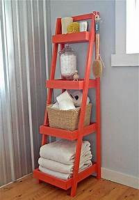 fine diy ladder bookshelf 12 Cool DIY Furniture Projects | DIY and Crafts