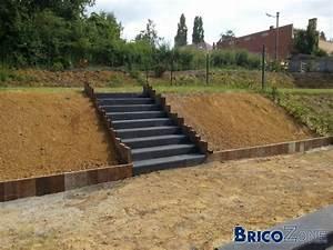 escalier exterieur marches prefabriquees en beton With faire un escalier exterieur en beton