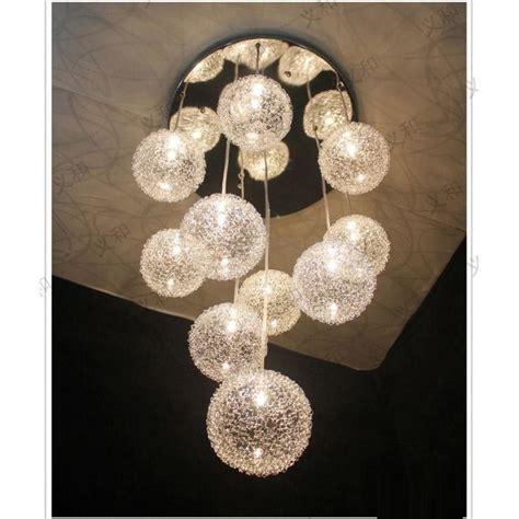 heads glass aluminum wire glass balls living room