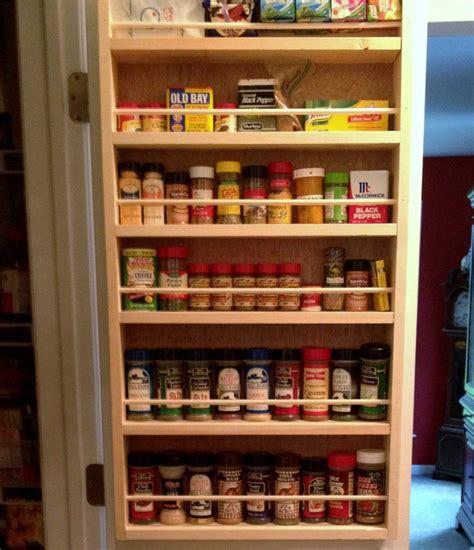 Kitchen Pantry Rack by Spice Rack On Inside Of Pantry Doors Spice Rack Door