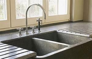 Evier Cuisine En Pierre : dr cuisines nos conseils les points d eau ~ Premium-room.com Idées de Décoration