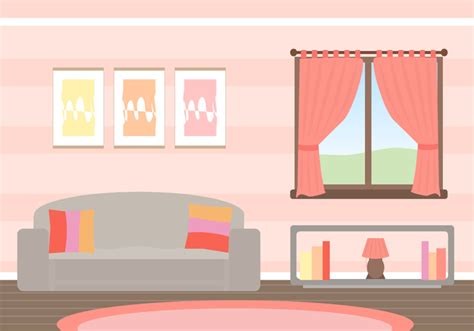 livingroom fireplace free living room vector free vector stock