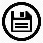 Save Button Icon Disk Persistent Storage Floppy
