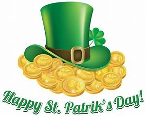 St Patricks Day Coins and Hat Transparent PNG Clip Art ...