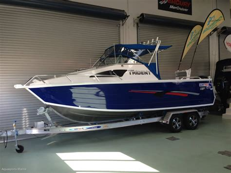 Quintrex Wake Boat by New Quintrex 690 Trident Trailer Boats Boats Online For