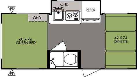 2015 R Pod Floor Plans by Travel Trailers Lake Country Rv