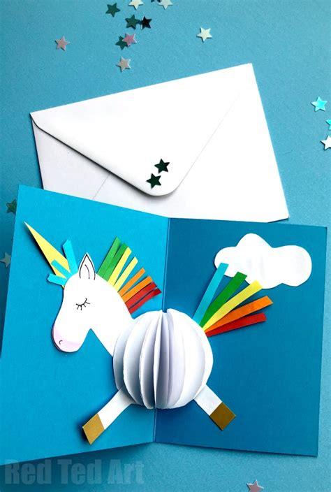 cartao unicornio  criando  apego