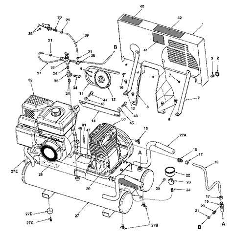 Powermate Air Compressor Wiring Diagram by Coleman Powermate T5590816 02 Ct5590816 02 Air Compressor