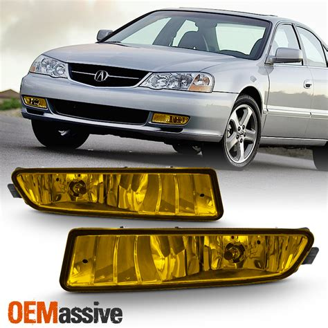 Acura Tl Type S Accessories by Fits 2002 2003 Acura Tl Type S Replacement Bumper Yellow
