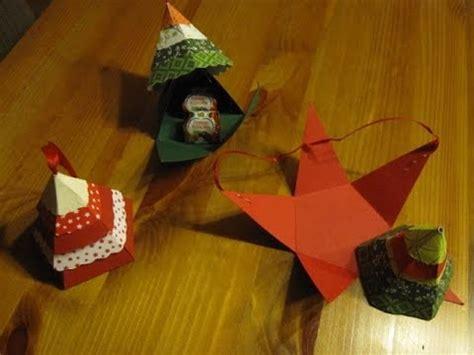 weihnachtsbasteln tannenbaum schachtel basteln