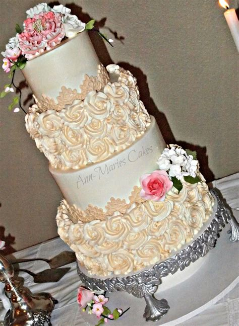 wright wedding cake cakecentral com