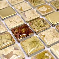 Glazed Porcelain Tile Square Mosaic Tiles Desi…
