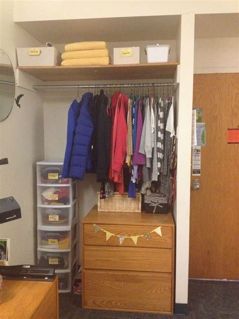 College Closet Organization Ideas by Room Closet Organization Organization Room
