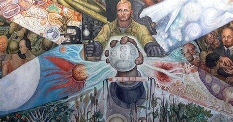 Stalinist Mural Diego Rivera Rockefeller Center by Expresi 243 N De Arte El Hombre En El Cruce De Caminos