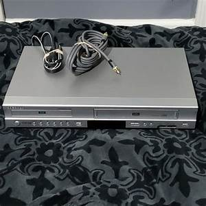 Samsung Dvd4600c Dvd Vhs Player Includes Remote  Manual Vcr
