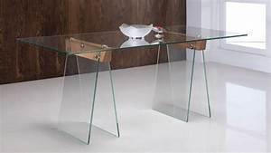 Table à Manger En Verre : table manger istanbul en verre tremp transparent gdegdesign ~ Teatrodelosmanantiales.com Idées de Décoration