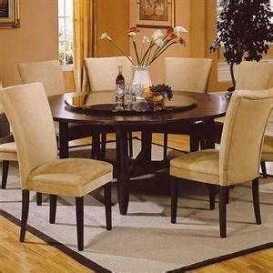 lazy susan 72 quot contemporary dining table w lazy susan for