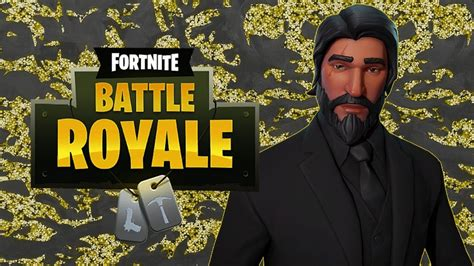 The Road To John Wick!!  Fortnite Battle Royale Gameplay