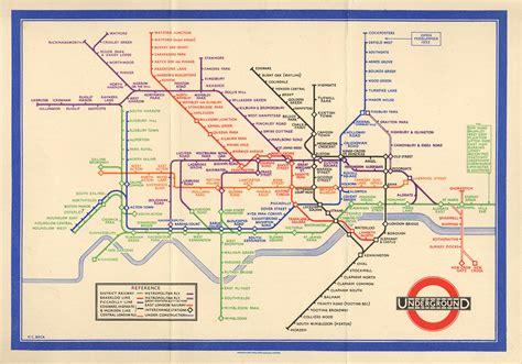 marvellous maps  london underground  museum  thin