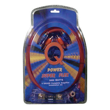 Walmart Canada Wiring Kit by Qpower Flex 4 3000 Watt Lifier Wiring