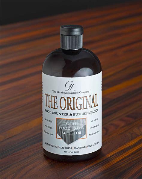The Original Oil™ Food Safe Butcher Block Oil Finish