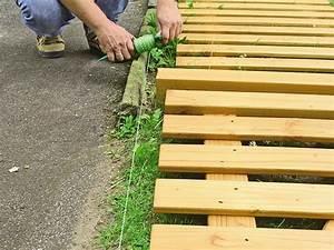 Holzzaun Lärche Selber Bauen : so bauen sie einen holzzaun bauhaus ~ Watch28wear.com Haus und Dekorationen